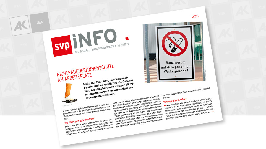 Cover der Broschüre © Heiko Küverling – adobestock.com, AK Wien