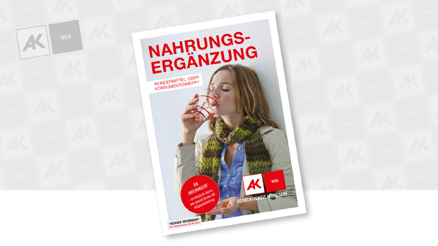 Cover der Broschüre © Getty Image.com, AK Wien