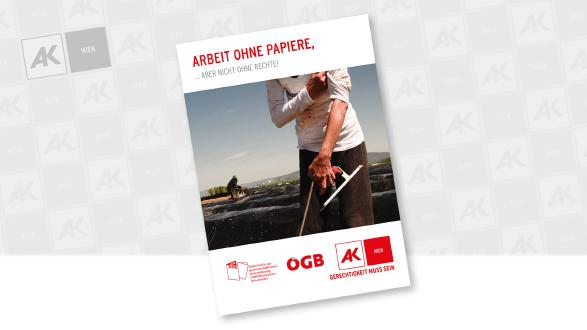Cover der Broschüre © Lisbeth Kovacic, AK Wien