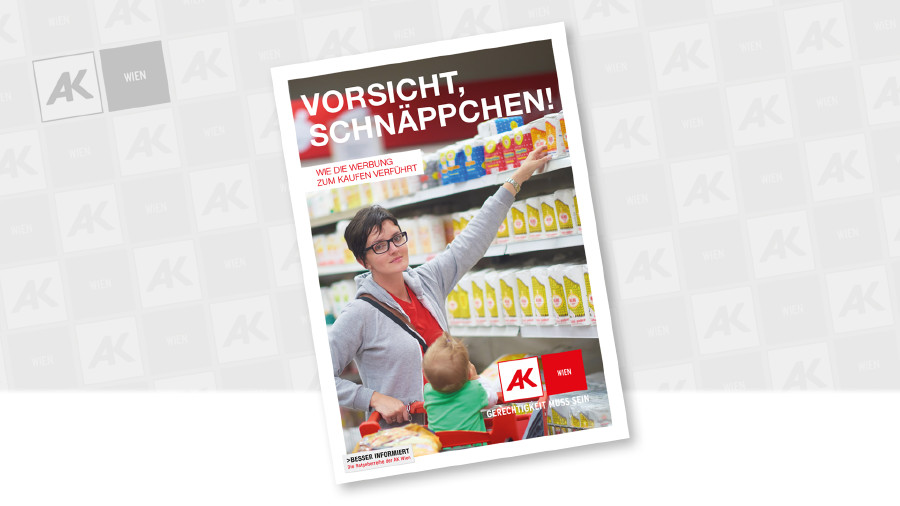 Cover der Broschüre © shock – Fotolia.com, AK Wien