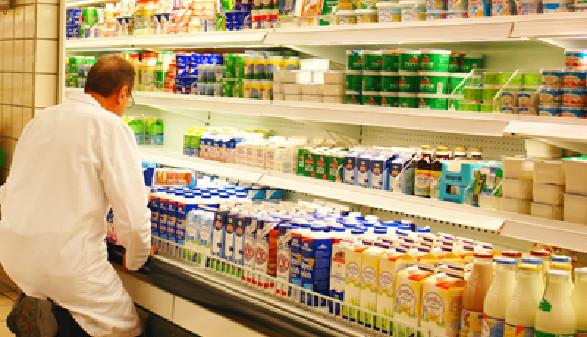 Milchregal im Geschäft © Ilan Amith, Fotolia