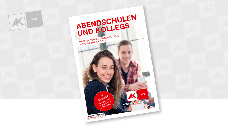 Cover der Broschüre © AK Wien, Kzenon - stock.adobe.com