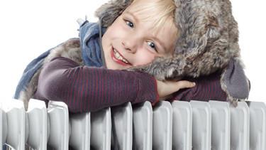 Heizung, Winter, Kind © Uwe Annas, Fotolia.com