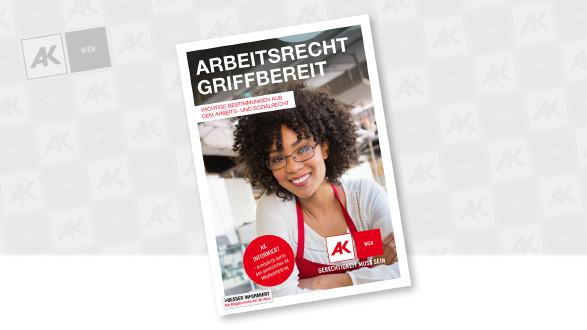 Cover der Broschüre © WavebreakmediaMicro - stock.adobe.com, AK Wien
