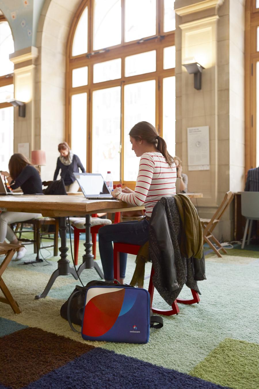 Co-Working © Swisscom